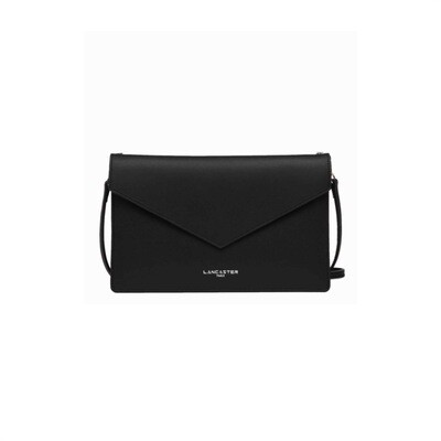 LANCASTER - City Americanino Double Clutch Air - Noir in Champagne