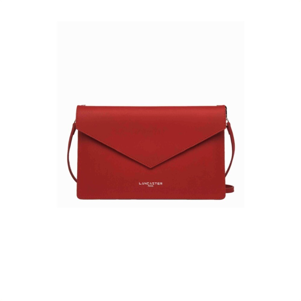 LANCASTER - City Americanino Double Clutch Air - Rouge in Champagne