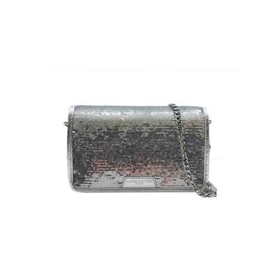 LANCASTER - Actual Shiny Sequin Mini Pochette - Argent