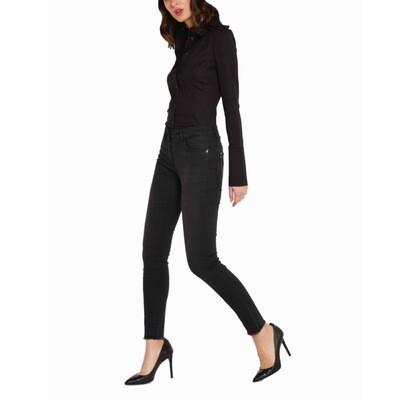 PATRIZIA PEPE - Jeans jegging stretch - Black
