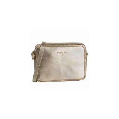 PATRIZIA PEPE - Camera Bag in pelle - Gold Star