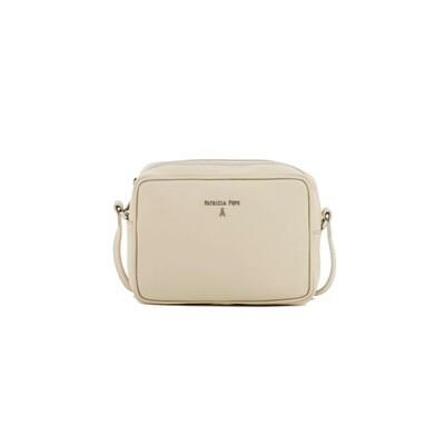 PATRIZIA PEPE - Camera Bag in pelle - Ivory