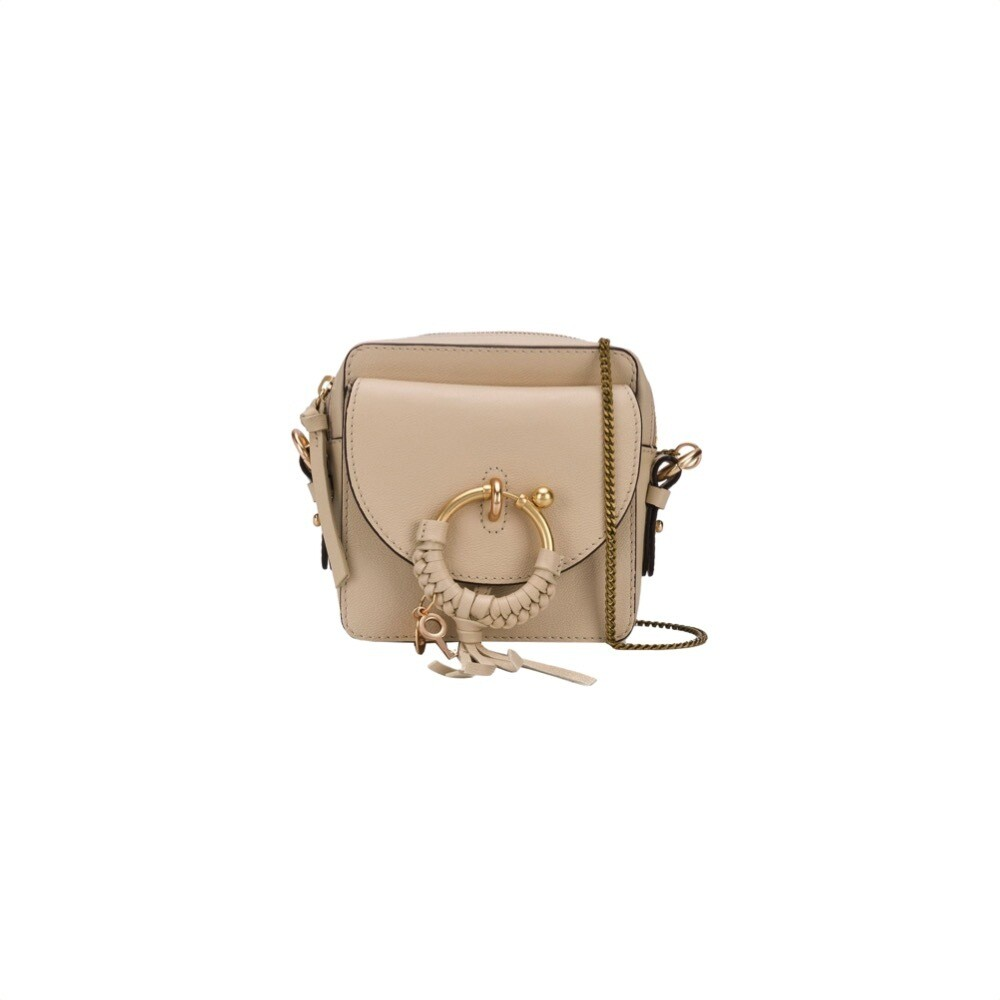 SEE BY CHLOÉ - Joan Mini Crossbody Bag - Cement Beige