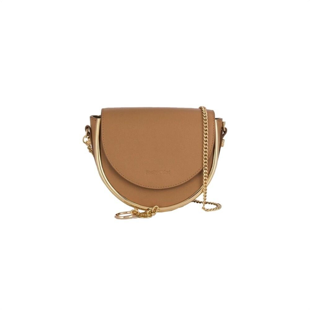 SEE BY CHLOÉ - Mara Mini Crossbody Bag - Coconut Brown