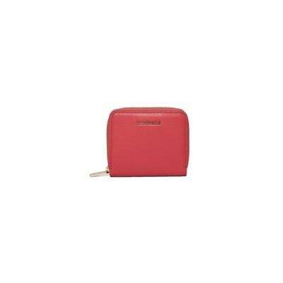 COCCINELLE - Metallic Soft Portafoglio piccolo Zip Around - Bouganville