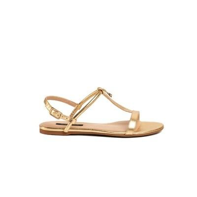 PATRIZIA PEPE - Sandalo infradito - Gold Star