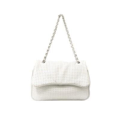MIA BAG - Tracolla Rock Personalizzabile - Bianco