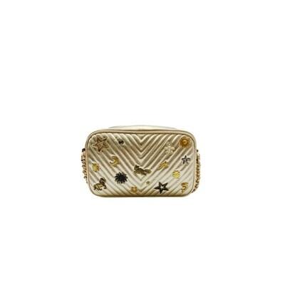 MIA BAG - Tracollina Zip Studs Lux Personalizzabile - Oro