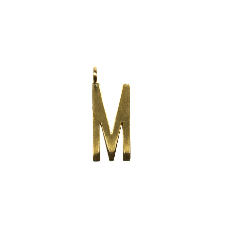 "GUM - Charms Pendente Lettera ""M"" - Gold"
