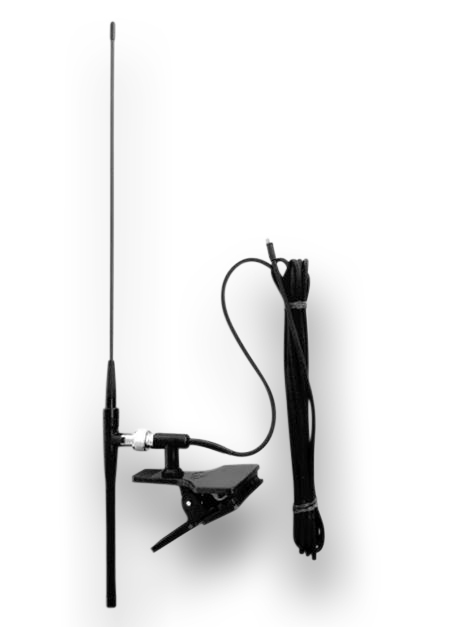 Clip antenna for AIS receiver