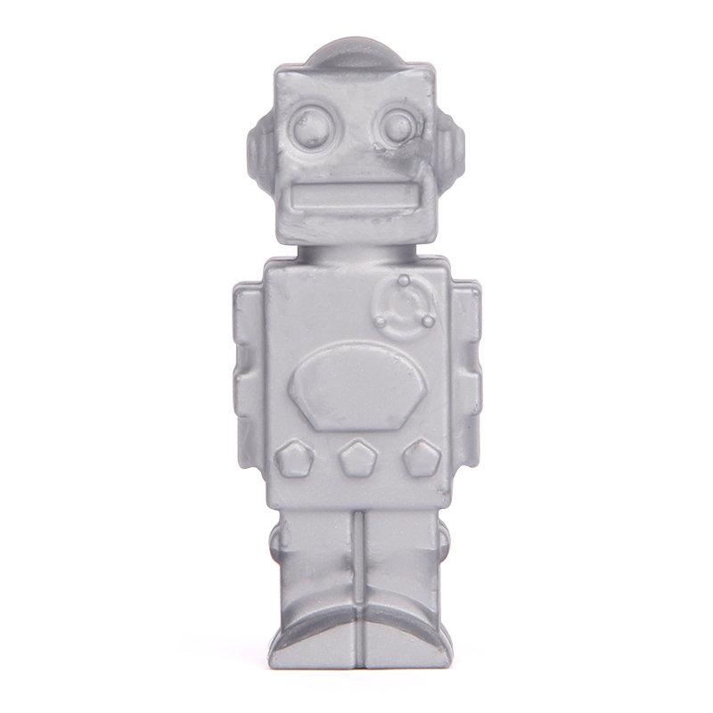 Silver Robot Pencil Topper