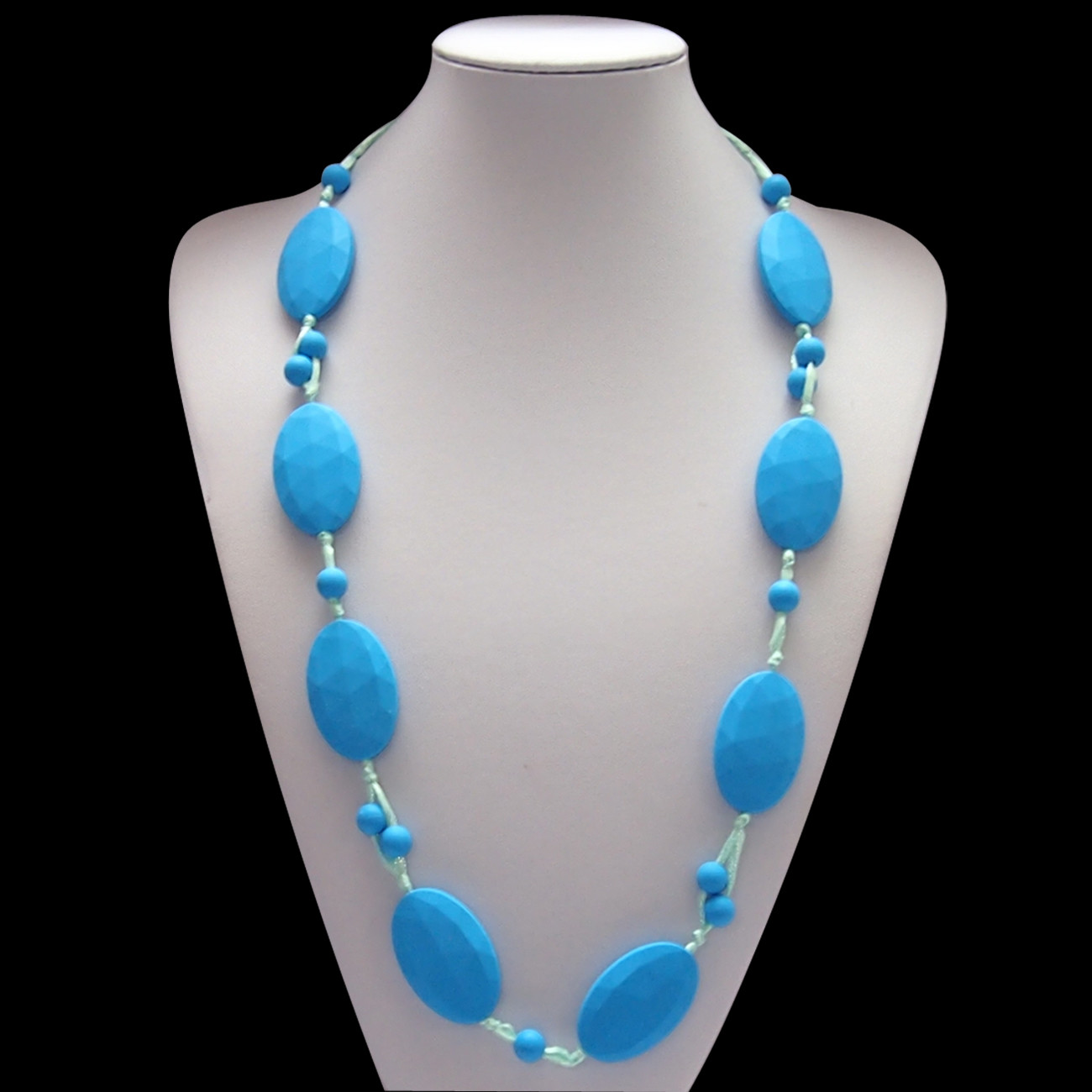 Bobbles and Beads Blue
