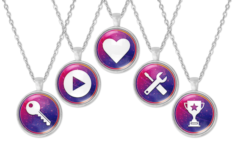 Relationship Superpower Necklace