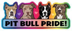 Pit Bull Pride Magnet