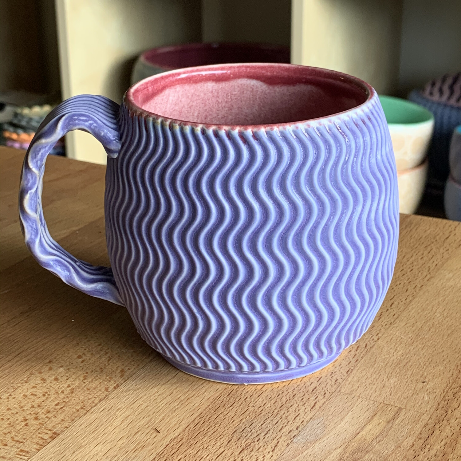 Oregon Cup in crimson & purple