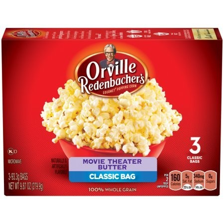Popcorn Boîte de 3 sacs