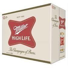 Miller High Life 16,99$