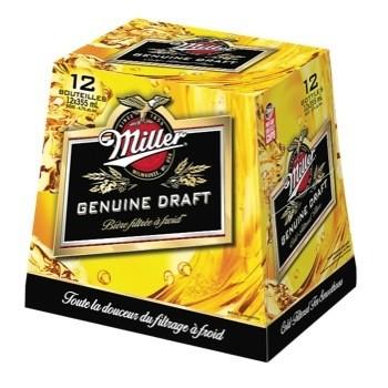 Miller Genuine Draft 18,99$