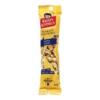 Arachides 60gr 2,19$