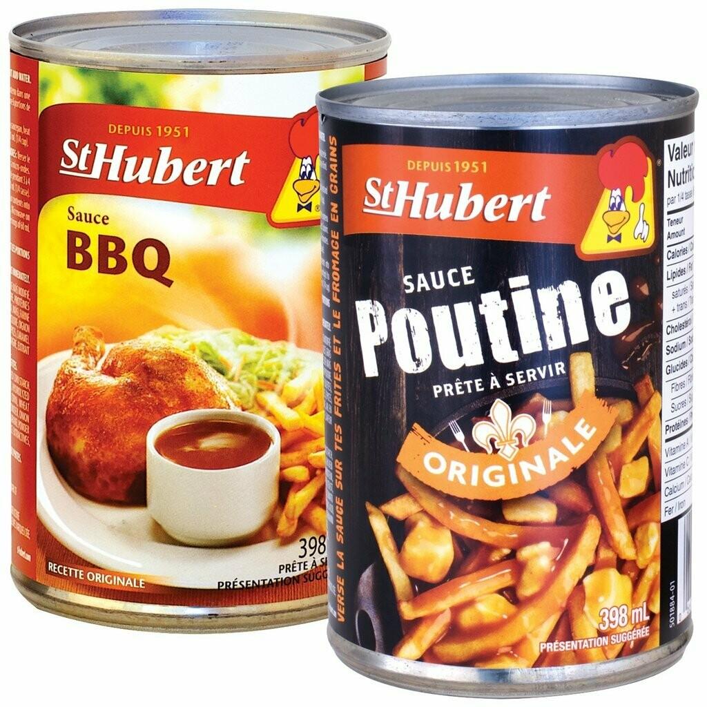 Sauce St-Hubert 398ML au choix 4,09$