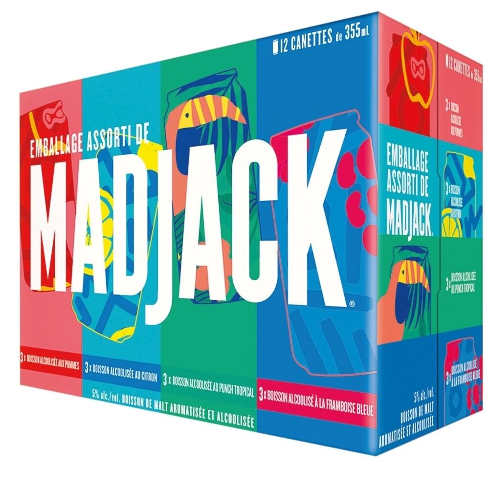 Madjack Caisse de 12 - 20,99$