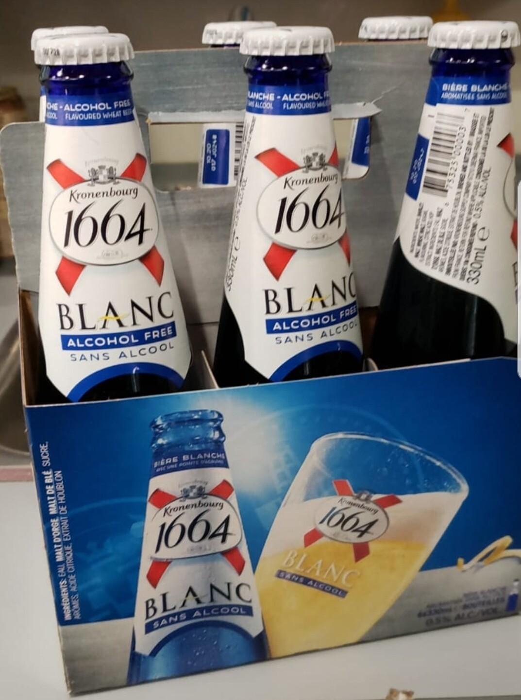 1664 Blanche sans Alcool