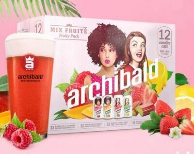 Archibald Mix Fruité 24,99$
