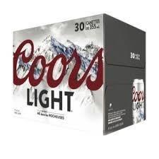 Coors Light 36.99$