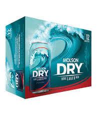Molson Dry 17.99$
