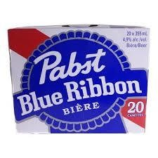 Pabst Blue Ribbon 25.99$