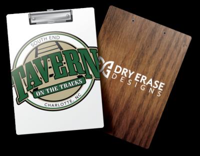 Custom Clipboards (Dry Erase With Custom Graphics)