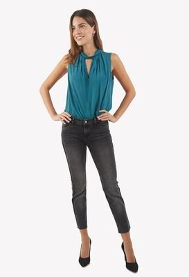 Pantalón jean color negro