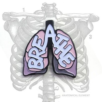 Anatomical Element BREATHE Lungs Pin