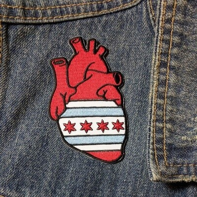 Anatomical Element Chicago Heart Patch