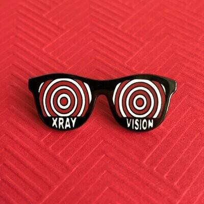 X-Ray Vision Pin