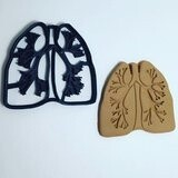 Anatomical Lungs Cookie Cutter