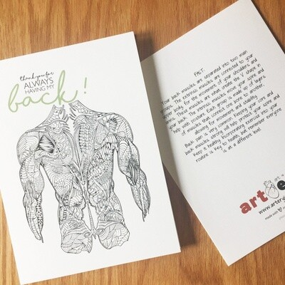 Back - Thank You Card