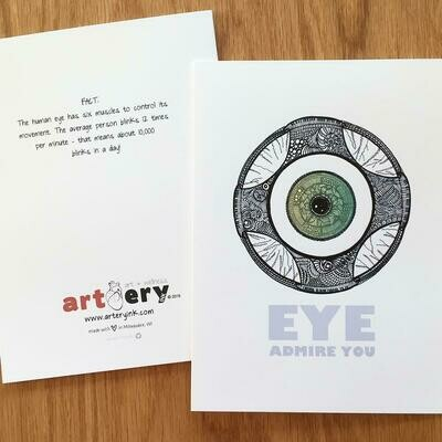 EYE Admire You - Any Occasion Card