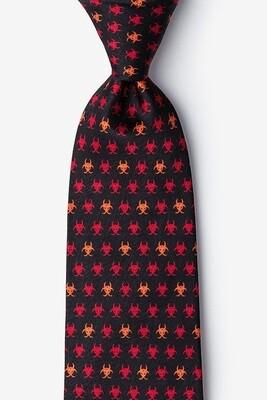 Biohazard Silk Tie