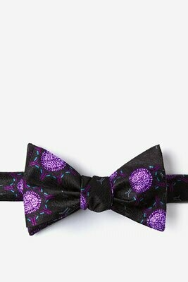 Ebola Silk Bow Tie