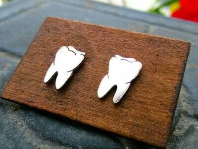 Anatomical Element Teeth Earrings