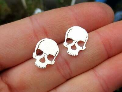 Anatomical Element Skull Earrings