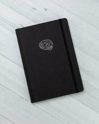 Brain Science A5 Notebook
