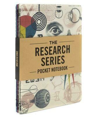 Medicine Pocket Notebook 4-Pack