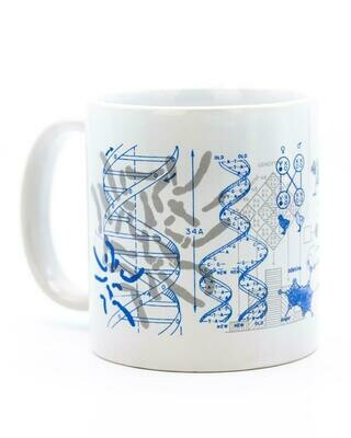 Genetics & DNA Mega Mug
