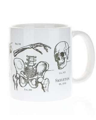 Skeleton Mega Mug