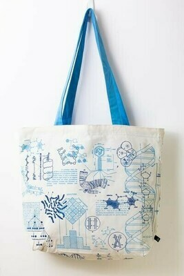 DNA & Genetics Tote Bag