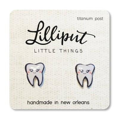Cute Tooth Earrings
