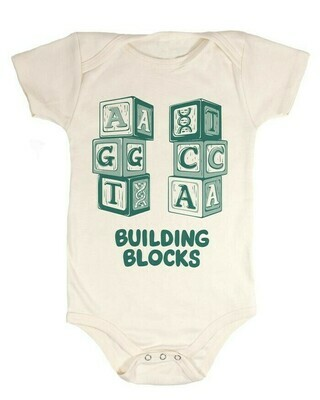 DNA Building Blocks Baby Onesie