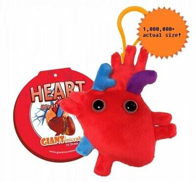 Heart Organ Keychain